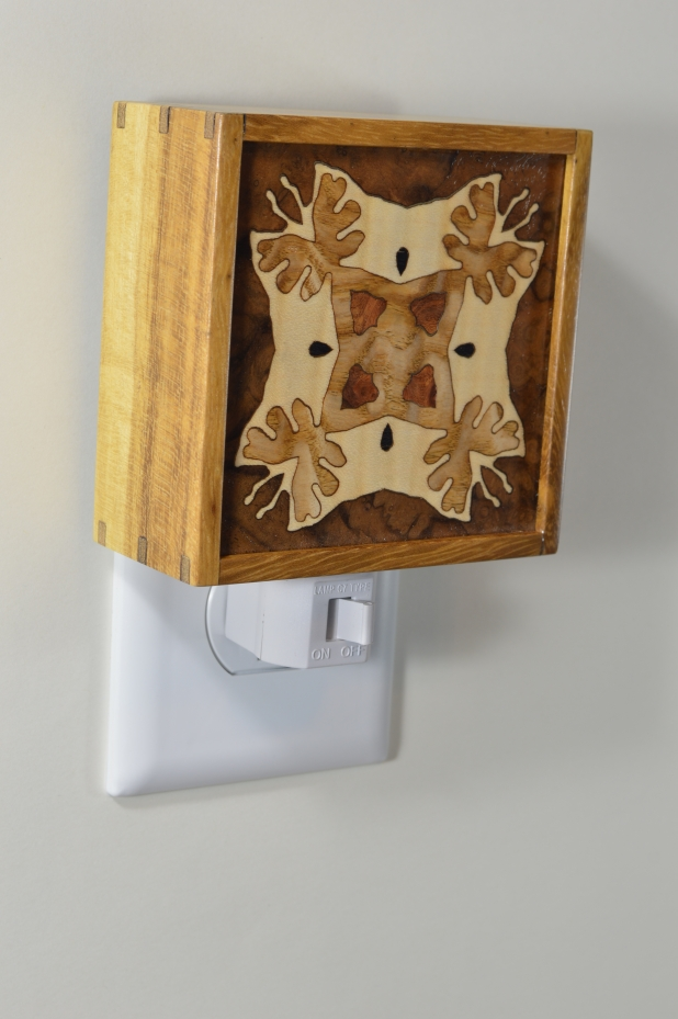 Mulberry nightlight with Bentley Star inlay