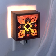 Quilt Pattern Nightlight